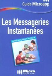 Les messageries instantanees - Couverture - Format classique