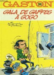 Gaston Lagaffe t.1 ; gala de gaffes à gogo - Couverture - Format classique