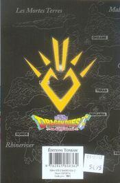Dragon quest - la quête de Daï T.4 - 4ème de couverture - Format classique