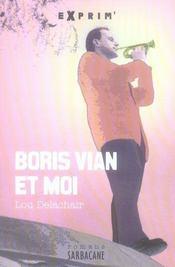 Boris Vian et moi - Intérieur - Format classique