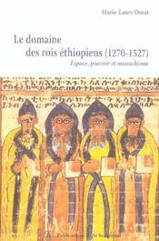Domaine des rois ethiopiens (1270-1527) - Intérieur - Format classique