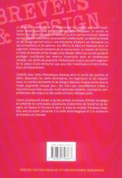 Brevets et design : le guide - 4ème de couverture - Format classique