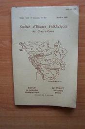 SOCIETE D'ETUDES FOLKLORIQUES DU CENTRE-OUEST Tome XVII 3 è livraison n° 116 mai juin 1983 Aguiaine et Subiet - Couverture - Format classique