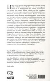 Toulouse, l'avion et la ville - 4ème de couverture - Format classique