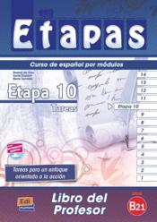 Etapa 10, nivel b2.1 ; libro del profesor - Couverture - Format classique