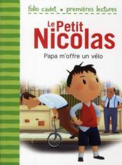 Le petit Nicolas T.4 ; Papa m'offre un vélo - Couverture - Format classique