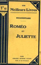 Romeo Et Juliette. Collection : Les Meilleurs Livres N° 110. - Couverture - Format classique
