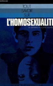L'Homosexualite - Couverture - Format classique