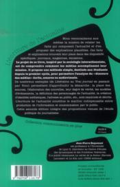 L'écriture de l'actualité (2e édition) - 4ème de couverture - Format classique
