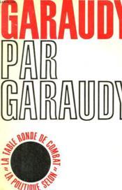 Garaudy Par Garaudy - Couverture - Format classique