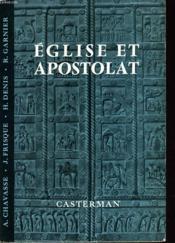 Eglise Et Apostolat - Couverture - Format classique