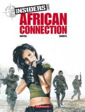 Insiders - saison 2 T.2 ; african connection - Couverture - Format classique