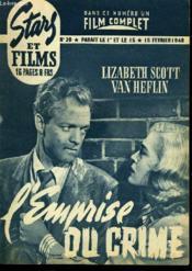 Stars Et Films - N°20 - L'Empire Du Crime - Couverture - Format classique