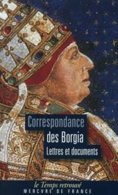 Correspondance - lettres et documents - Couverture - Format classique