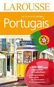 Larousse de poche + ; portugais ; français-portugais / portugais-français - Couverture - Format classique