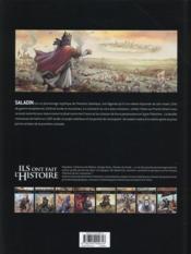 Saladin - 4ème de couverture - Format classique