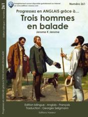PROGRESSEZ EN ANGLAIS GRACE A... ; trois hommes en balade - Couverture - Format classique