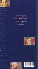 L'abcdaire de cezanne - 4ème de couverture - Format classique