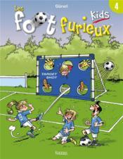Les Foot Furieux kids T.4 - Couverture - Format classique