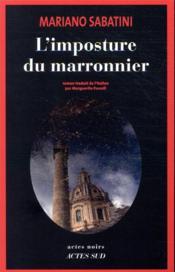 L'imposture du marronnier - Couverture - Format classique