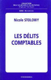 Les Delits Comptables - Intérieur - Format classique