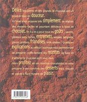 Mmm ! chocolat ! - 4ème de couverture - Format classique