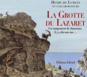 Grotte du lazaret la - Couverture - Format classique