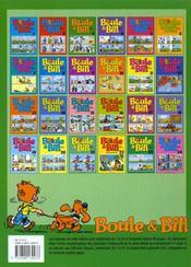 Boule & Bill T.3 - 4ème de couverture - Format classique