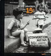 Je me souviens du 15eme arrondissement -2eme edition- (2e édition) - Intérieur - Format classique