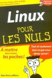 Linux - Intérieur - Format classique
