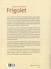 Abbaye de Saint Michel de Frigolet (1858-2008) - 4ème de couverture - Format classique