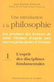 Une introduction a la philosophie - Intérieur - Format classique