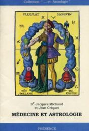 Medecine et astrologie - Couverture - Format classique