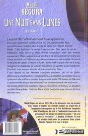 Leilan T.3 ; Une Nuit Sans Lunes - 4ème de couverture - Format classique