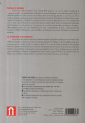 REVUE LIBERTE POLITIQUE N.46 ; liberté politique (septembre 2009) - 4ème de couverture - Format classique