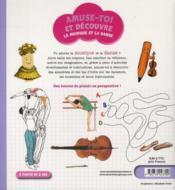 La musique et la danse - 4ème de couverture - Format classique