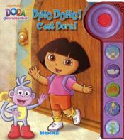 Ding dong ! c'est Dora ! - Couverture - Format classique