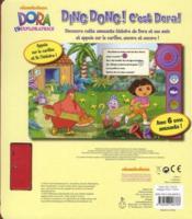 Ding dong ! c'est Dora ! - 4ème de couverture - Format classique