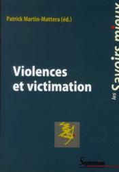 Violences et victimation - Couverture - Format classique