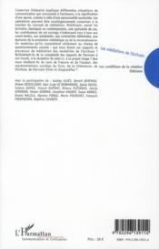 Les médiations de l'écrivain ; les conditions de la création littéraire - 4ème de couverture - Format classique