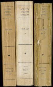 PRÉCIS DE DROIT CIVIL publié d'après le Cours élémentaire de Droit civil français d'Ambroise Colin et Henri Capitant, 9èmeéd. entièrement refondue et mise à jour, avec addendum de mise à jour au 1er ao t 1947, Coll. Petits Précis Dalloz - Couverture - Format classique