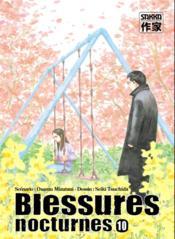 Blessures nocturnes t.10 - Couverture - Format classique