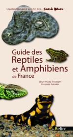 Guide des reptiles et amphibiens de France - Couverture - Format classique