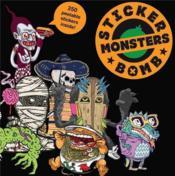 Stickerbomb Monsters /Anglais - Couverture - Format classique