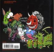 Stickerbomb Monsters /Anglais - 4ème de couverture - Format classique