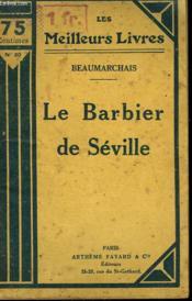 Le Barbier De Seville. Collection : Les Meilleurs Livres N° 20. - Couverture - Format classique