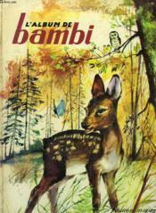 L'Album De Bambi - Couverture - Format classique