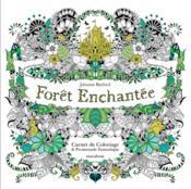 Forêt enchantée ; carnet de coloriage et chasse au trésor anti-stress - Couverture - Format classique