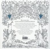 Forêt enchantée ; carnet de coloriage et chasse au trésor anti-stress - 4ème de couverture - Format classique