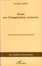 Essai sur l'imagination créatrice - Intérieur - Format classique